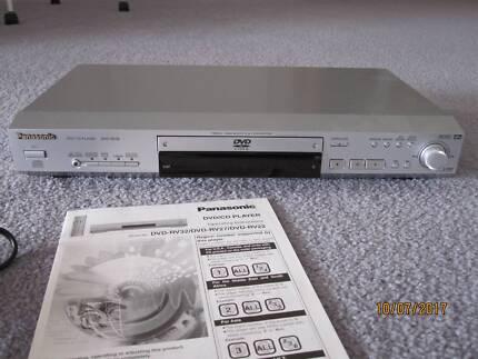 PANASONIC DVD/CD PLAYER MODEL DVD-RV32