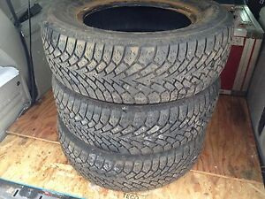 3@ Goodyear Nordic 225 65r16 caravan Winter Snow Tires
