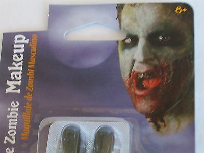 Halloween Male Zombie Blood Capsules Makeup Kit Costume Theater Face Paint (Halloween Painted Faces Zombies)