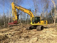 LOT CLEARING, SEPTIC SYSTEMS, EXCAVATING
