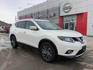 2016 Nissan Rogue SL AWD - LOCAL TRADE / LEATHER / NAVIGATION