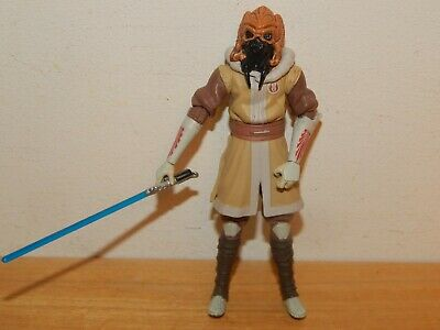 "STAR WARS CLONE WARS PLO KOON 3.75"" ACTION FIGURE #D2"