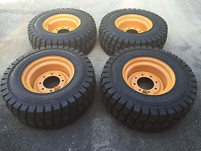 12-16.5 Galaxy Trac Star Skid Steer Tireswheelsrims For Case Xt 400 Series