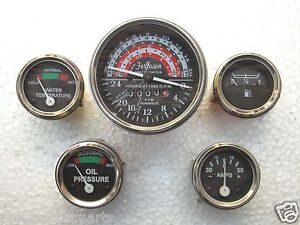 Massey Ferguson MF35, MF50, MF65, TO35, F40, MH50 Tachometer + Gauges Kit