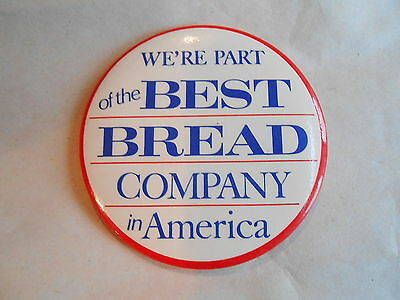 Vintage We Are Part of the Best Bread Company in America Advertising
