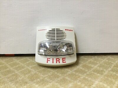 Simplex 4903-9455 White Truealert Fire Alarm Horn Strobe