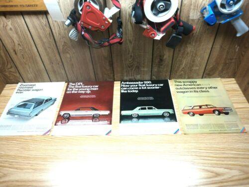4 1966 Rambler Classic 770 Wagon Ambassador DPL 990 American 440 Wagon Print Ad