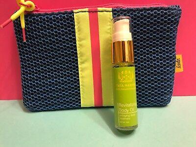 Tata Harper Revitalizing Body Oil  Vegan Natural Deluxe Travel 15ml Ipsy Bag Lot ()