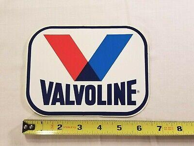 1968 VALVOLINE VINTAGE RACING STICKER DECAL NASCAR NHRA NOS FREE SHIPPING!