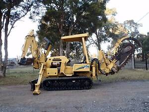 VERMEER RT450 TRENCHER TRENCH DIGGER BACKHOE EXCAVATOR ATTACHMENT Austral Liverpool Area Preview