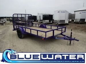 "2018 Load Trail Single Axle w2"" x 3"" Angle Iron Frame 2,990 lb -"