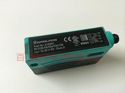 Original Authentic Fuchs Pf Photoelectric Sensor Diffuse Rlg28-55 40a 73c 136