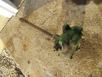 John Deere Mt Tractor Front Pedestal Ross Brand Steering Gear Box Assembly Jd