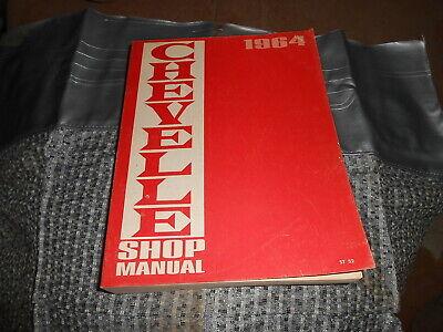 Vintage OEM Chevrolet Shop Manual 1964 Chevelle
