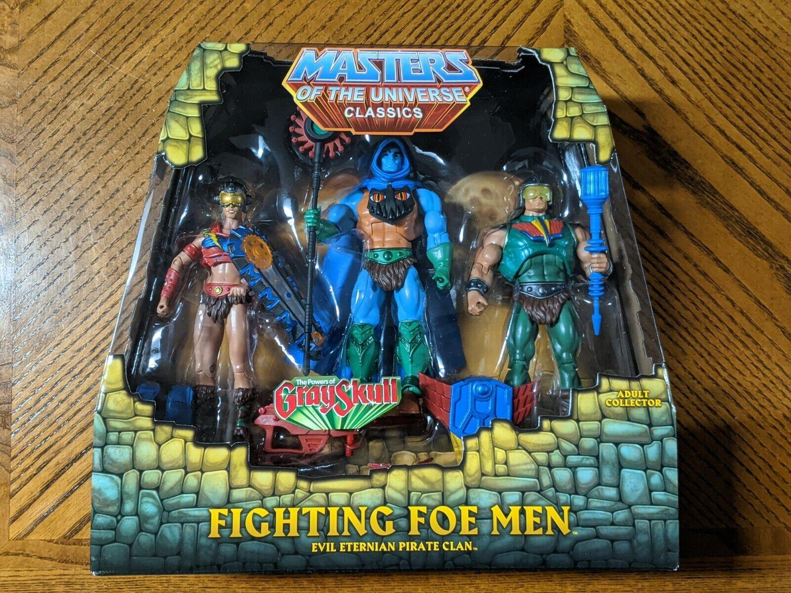 Masters Of The Universe Classics FIGHTING FOE MEN MOTUC Grayskull He-Man New MIB - $80.00
