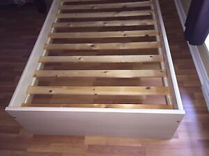 Single bed frame never used, need to be gone today