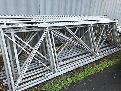 Sturdi-bilt Pallet Rack Uprights Heavy Duty Shelves.