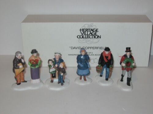 Dept 56  Heritage Village Collection  David Copperfield  5551-4  Set of 5