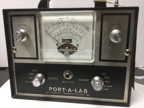 CB Radio Station Tester - PORT-A-LAB By Courier