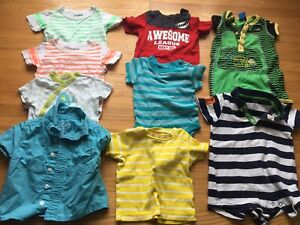 Boys 9-12m SUMMER Clothing $1 per item