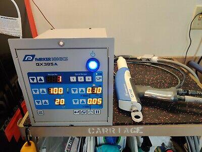 Parker Ionics Gx8500a Powder Coating System Gx132 Powder Gun Fluidizing Hopper