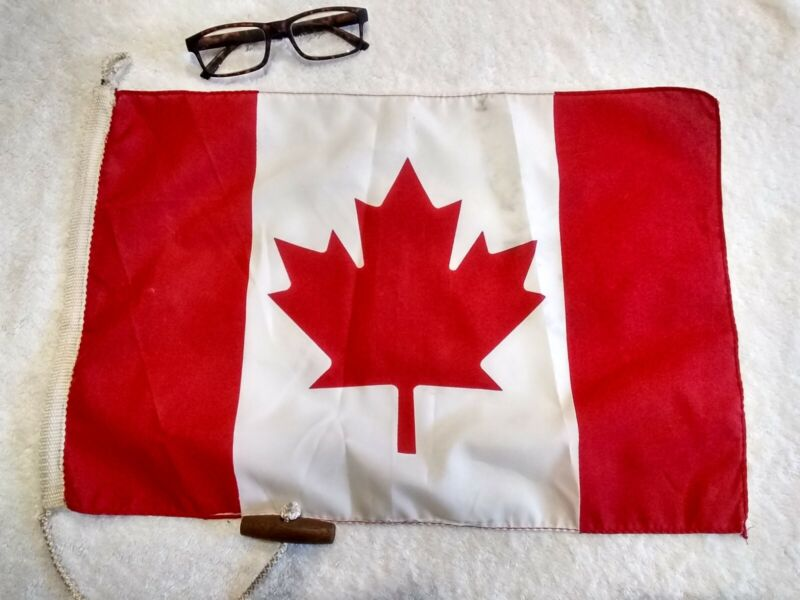 Nautical Flag Pennant Vintage Boat Ship CANADA