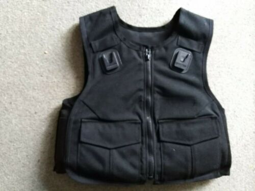 Ex Police body armour, with lining, excellent condition, size small