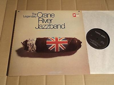 CRANE RIVER JAZZBAND (MONTY SUNSHINE) - THE LEGENDARY - LP - HAPPY BIRD 5003