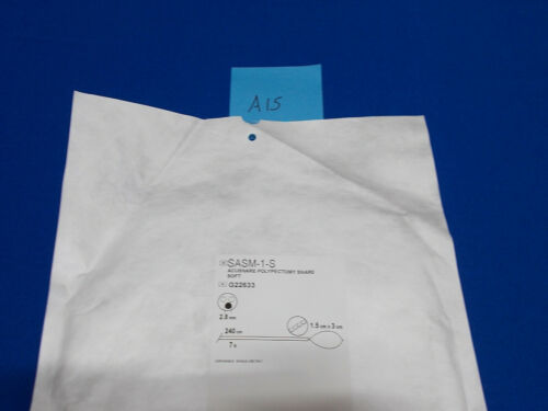 SASM-1-S # G22633 Acusnare Polypectomy Snare Soft