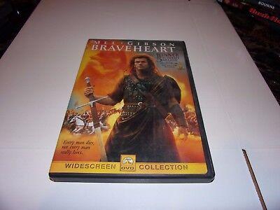 Braveheart (DVD, 1995,Widescreen) Mel Gibson,