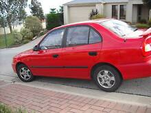 2000 Hyundai Accent Sedan Blakeview Playford Area Preview