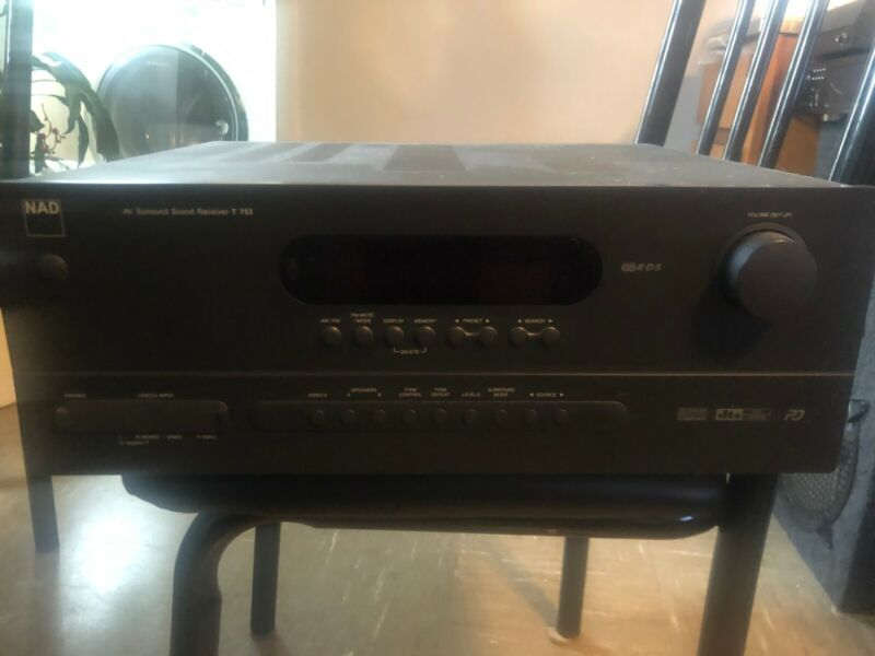 NAD T753 A/V Surround 7.1 Receiver Amp
