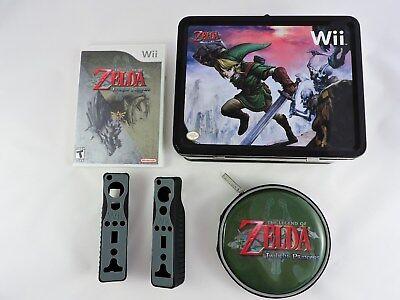 The Legend of Zelda: Twilight Princess Lunchbox & Nintendo Wii video game remote