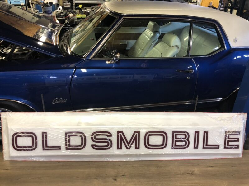 Oldsmobile Dealership Sign,   Replacement Lens,