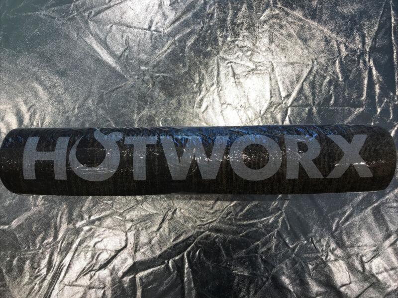 "HOTWORX YOGA MAT BROWN HEMP FIBER 72 3/4"" x 24"" NEW"