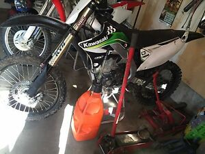 2010 Kawasaki KXF 450 fuel injected