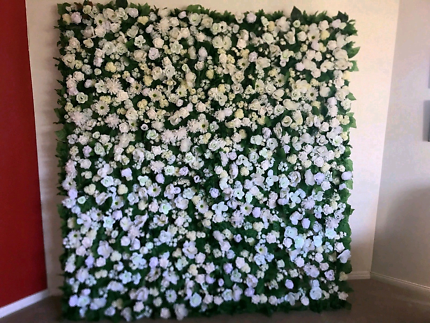 Wedding and events decor, flower wall