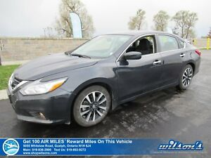 2018 Nissan Altima 2.5 SV | SUNROOF | HEATED STEERING + SEATS |