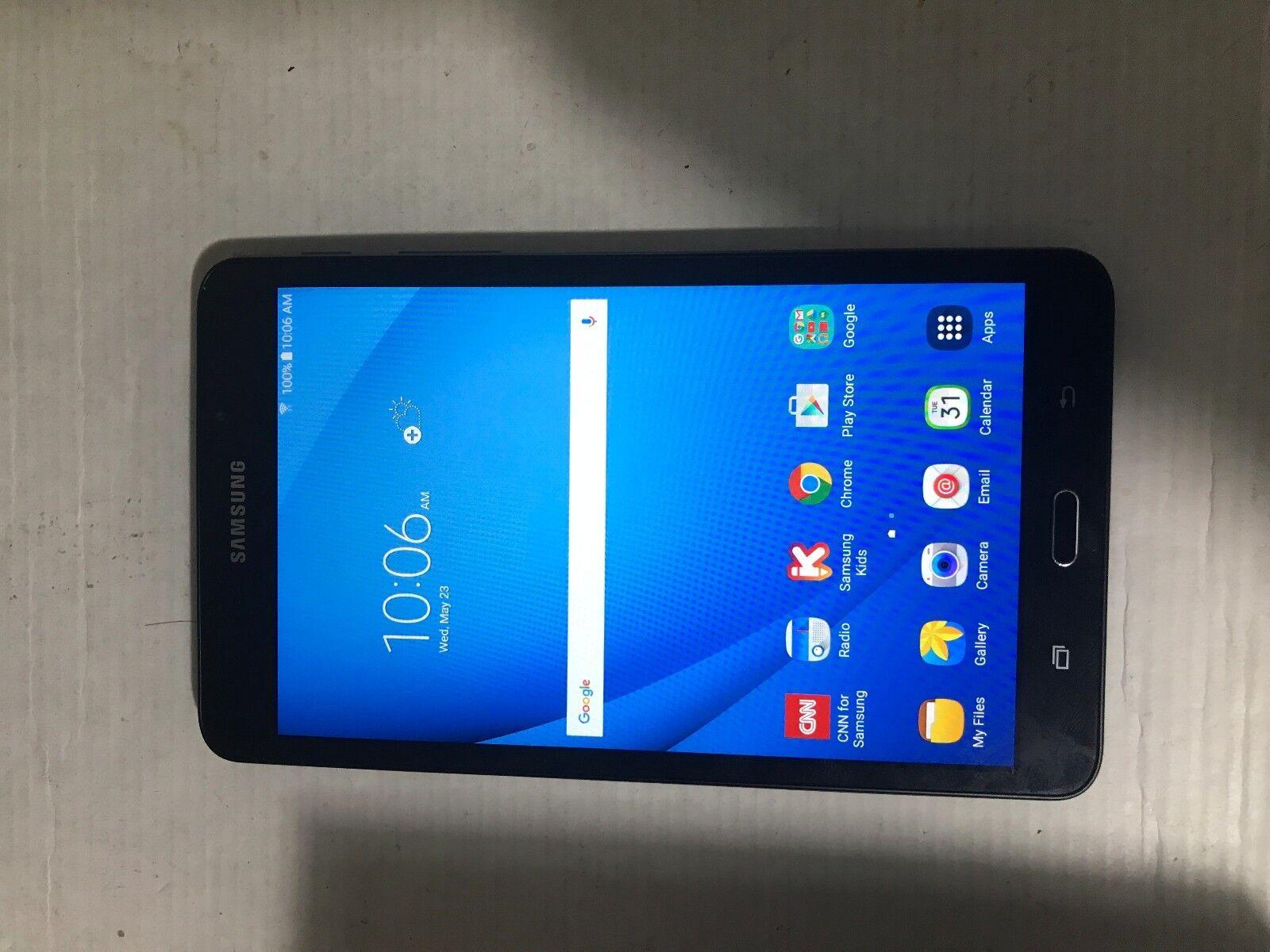 Samsung Galaxy Tab A SM-T280 8GB Wi-fi 7-inch Tablet - Black