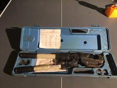 Huskie Tools Ep-510b Hydraulic Crimping Tool W Case
