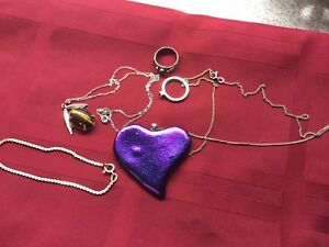 925 Silver jewelry Lot for $30