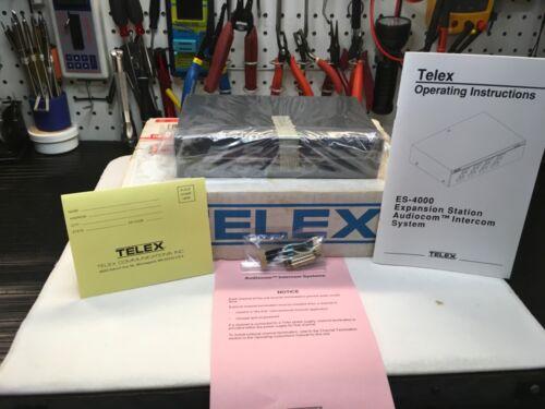 NOS Telex ES-4000 Expansion Station Audiocom Intercom System New In Box