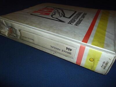 Jcb 406 407 408 409 Wheel Loader Service Repair Manual 98034200