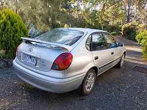 2001  sedan Toyota corolla seca accent 5 speed manual Rokewood Golden Plains Preview