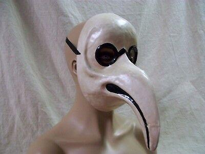Bird Doctor Mask Black Plague Beak Nose Medieval Death Dr Biohazard Peste Medico