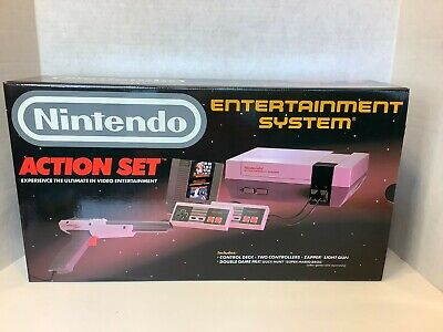 Vintage 80s Nintendo Action Set NES Original BOX + INSERTS + POSTER ONLY