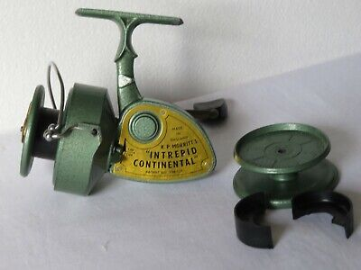 K.P. MORRITTS. INTREPID CONTINENTAL. REEL AND A SPARE SPOOL EXCELLENT