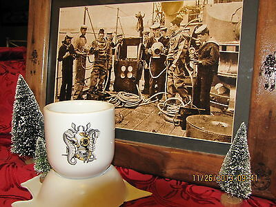 "MARK V DIVER ""NAVY DIVE PIN SERIES"" WWII LIBERTY MUGS"