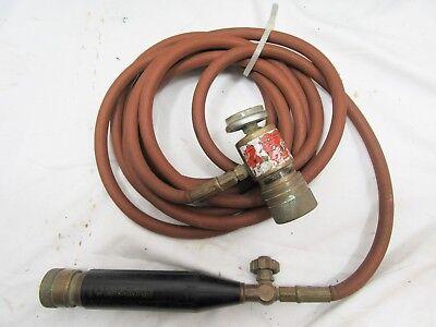 Turbotorch B-tank Acetylene Torch Hose Handle Regulator Hvac Plumbing Soldering