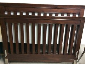 College Woodwork Crib and Bed Frame